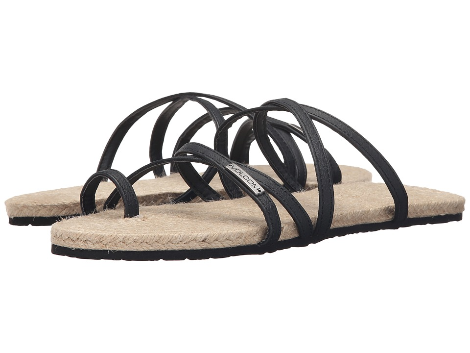 Volcom - Hook It Up Sandal (Black) Women's Sandals