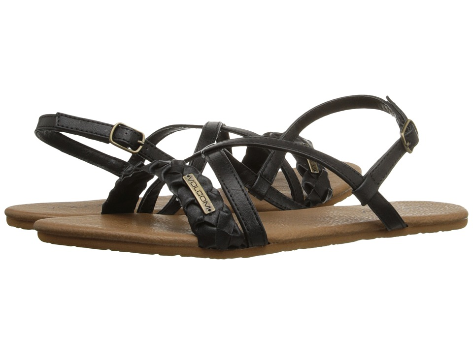 Volcom - Journey Sandal (Black) Women's Sandals