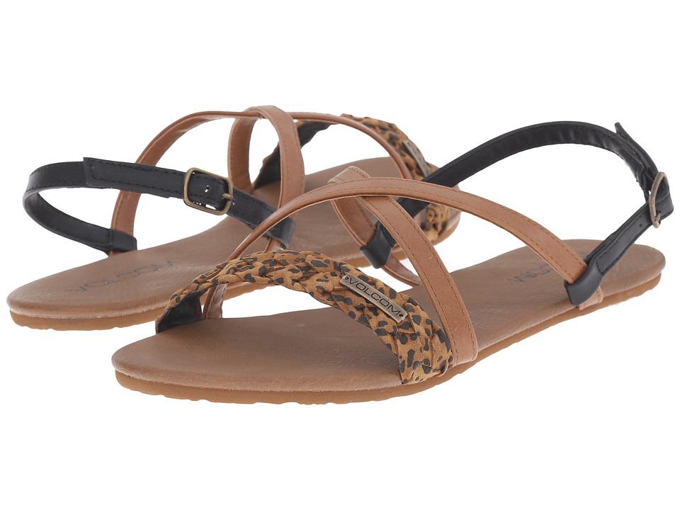 Volcom - Journey Sandal (Cheetah) Women's Sandals