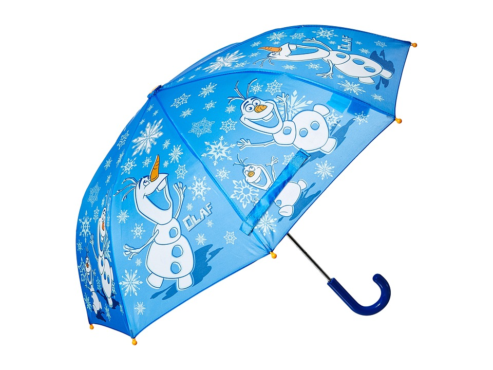 Western Chief Kids - Warm Hugs Umbrella (Youth) (Blue) Umbrella