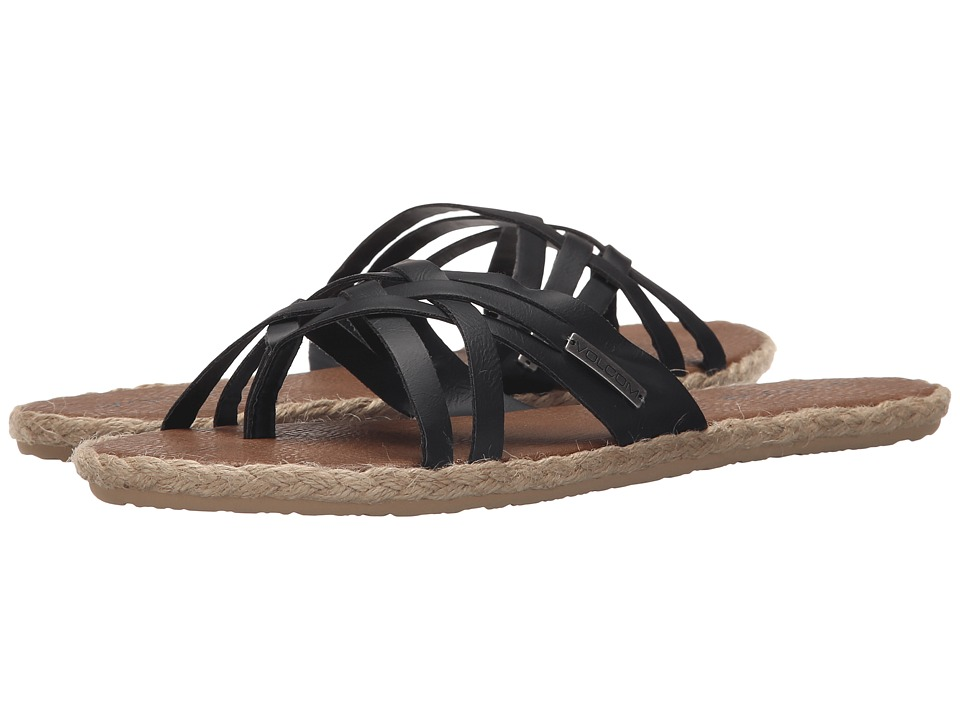 Volcom - Check In Sandal (Black) Women's Sandals