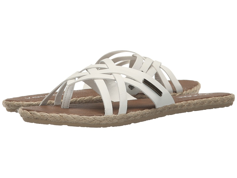 Volcom - Check In Sandal (White) Women's Sandals
