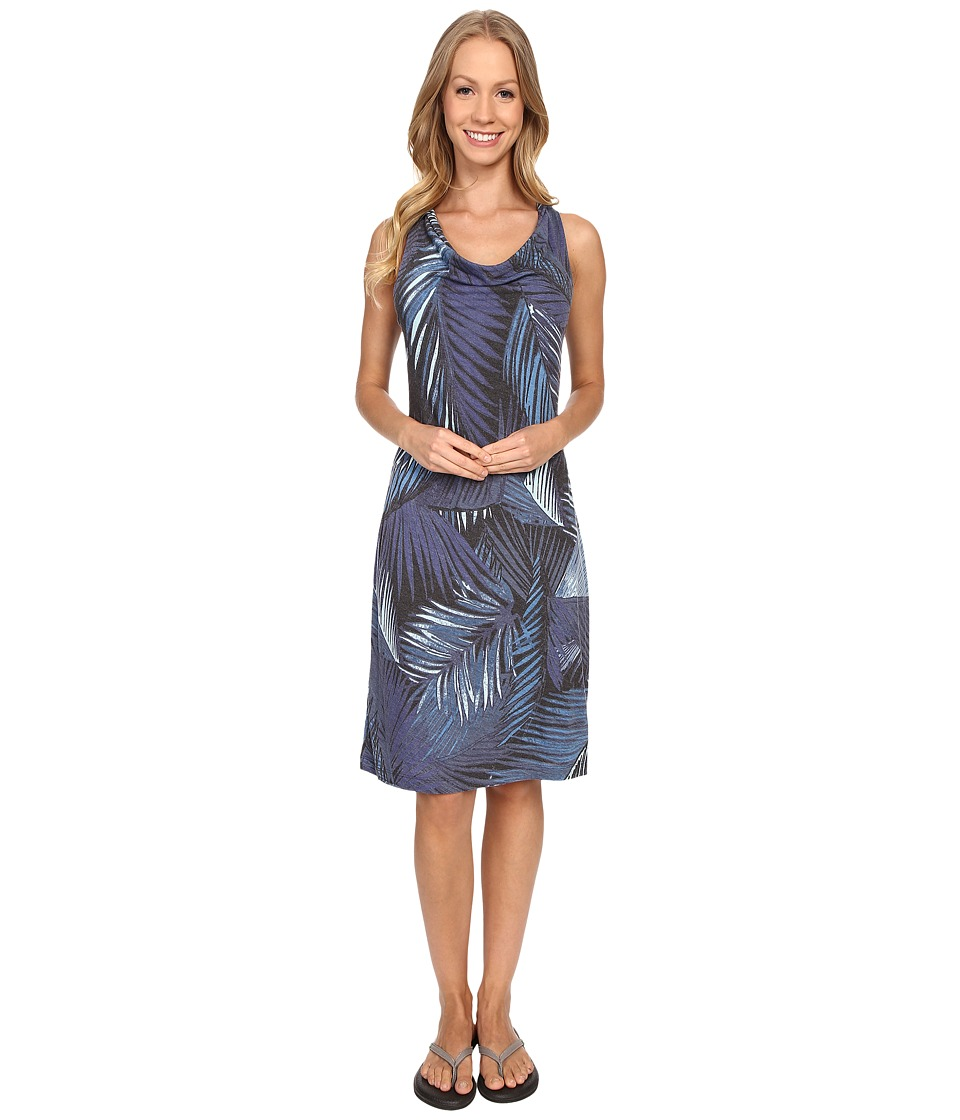 Lole Jana Dress (Vallarta Blue Palm) Women