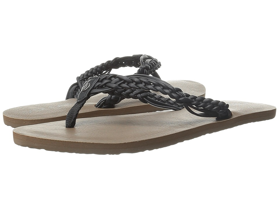 Volcom - Tipsy Sandal (Black) Women's Sandals