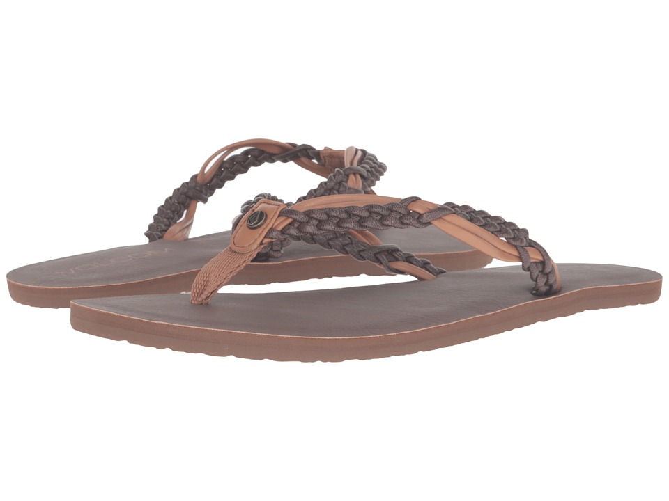 Volcom - Tipsy Sandal (Brown Combo) Women's Sandals