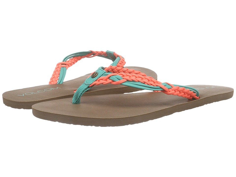 Volcom - Tipsy Sandal (Summer Orange) Women's Sandals