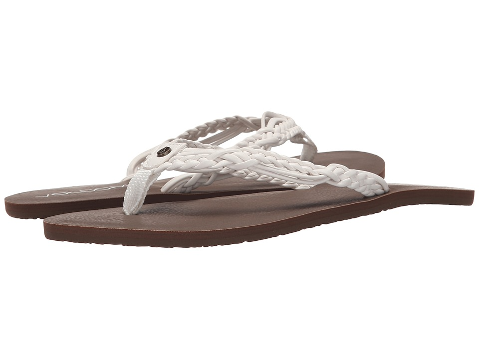 Volcom - Tipsy Sandal (White) Women's Sandals