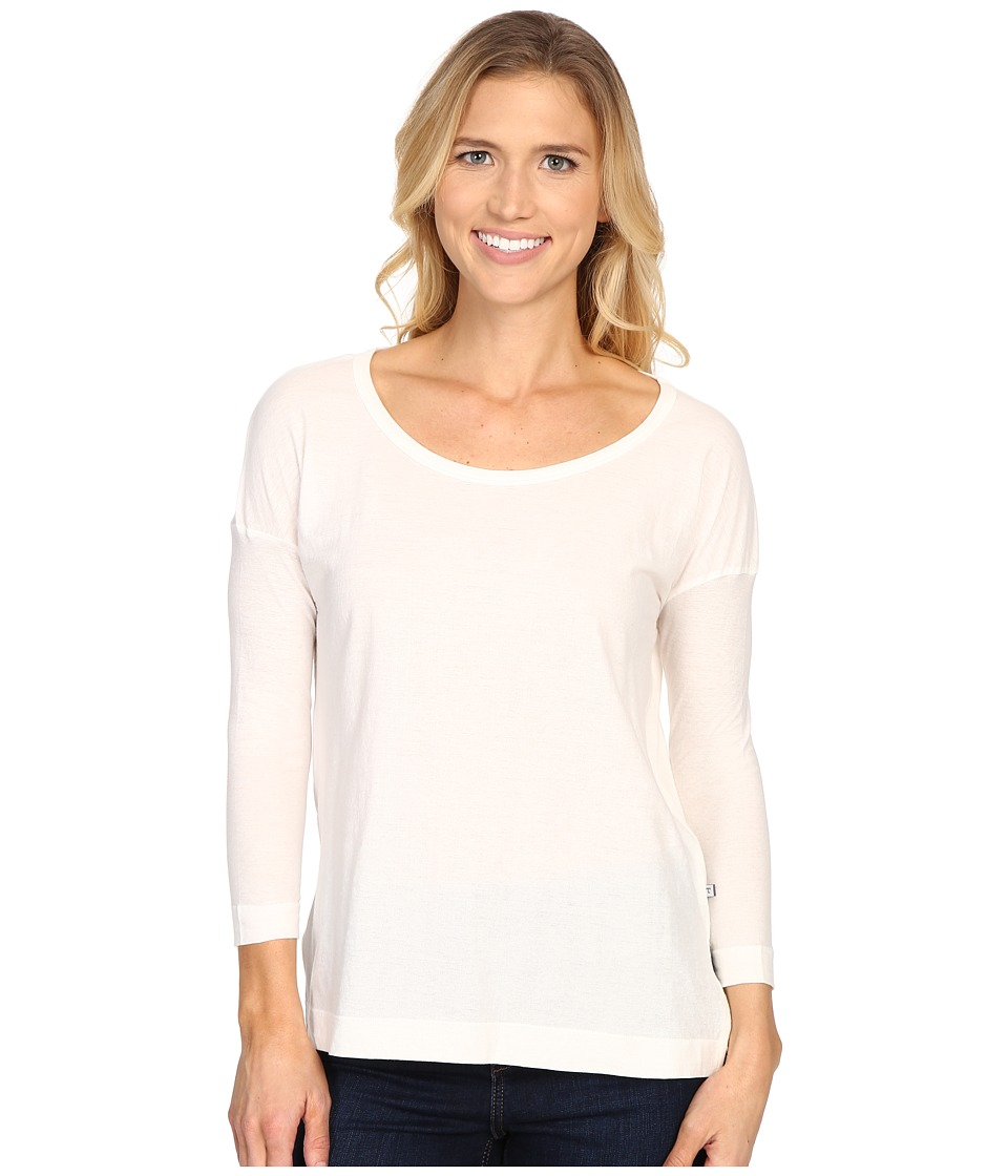Toad&Co - Tissue 3/4 Tee (Egret) Women's Long Sleeve Pullover