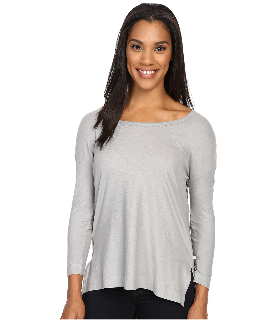 Toad&Co - Tissue 3/4 Tee (Light Ash) Women's Long Sleeve Pullover
