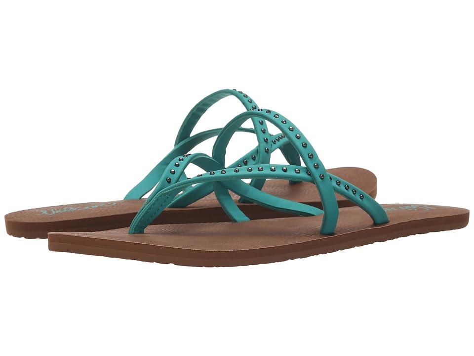 Volcom - All Day Long 2 (Mint) Women's Sandals