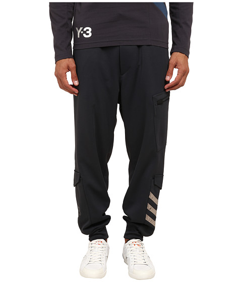 adidas Y-3 by Yohji Yamamoto - Flight Pants (Night Grey) Men