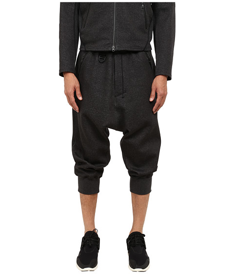 adidas Y-3 by Yohji Yamamoto - Future Sport Pants (Charcoal Melange/Sub Blue) Men's Casual Pants