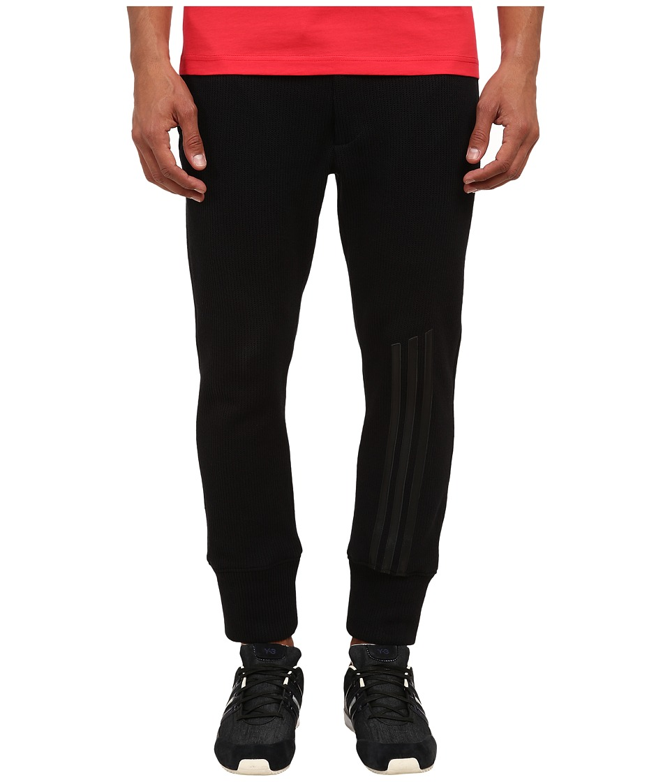 adidas Y-3 by Yohji Yamamoto - Waffle Leggings (Black) Men's Casual Pants