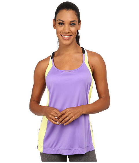 Fila - Loosen Up Tank Top (Purple/Yellow/Black) Women's Sleeveless