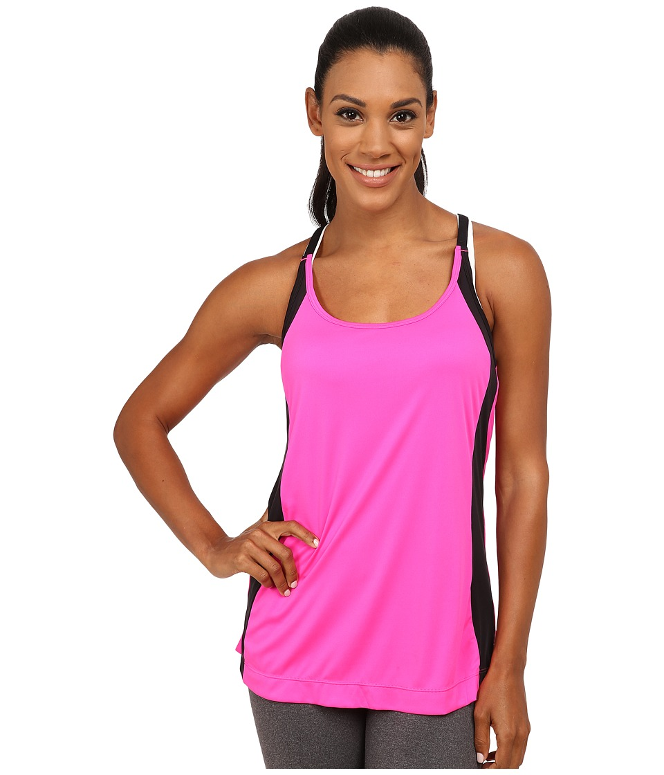 Fila - Loosen Up Tank Top (Pink Surprise/Black) Women's Sleeveless