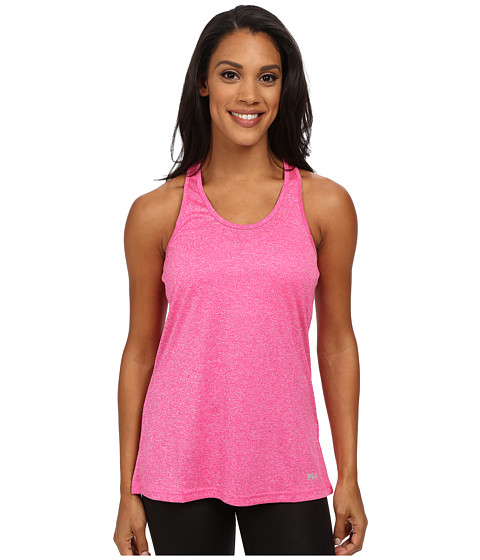 Fila - Move It Loose Tank Top (Pink Glo Heather) Women's Sleeveless