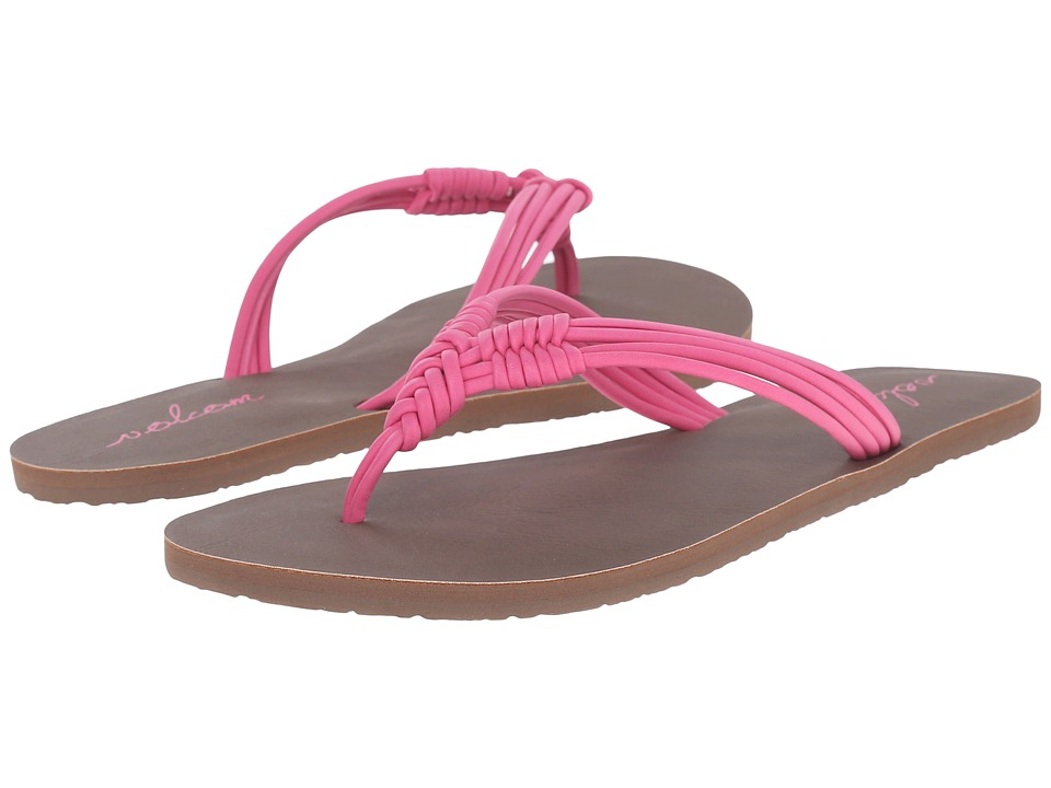 Volcom - Have Fun 2 (Electric Pink) Women's Sandals