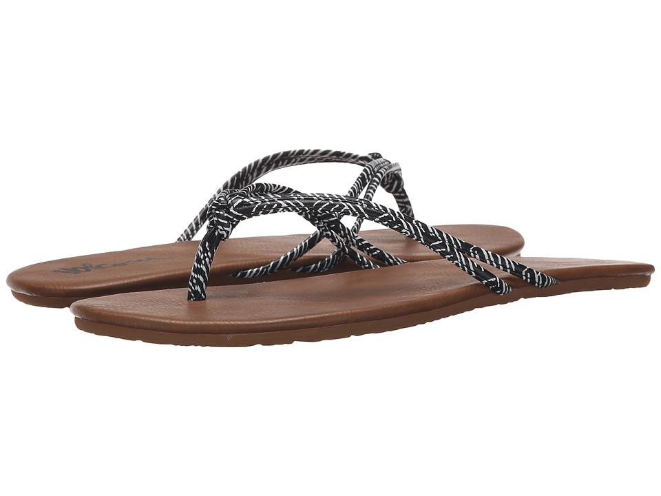 Volcom - Forever 2 (Black Print) Women's Sandals