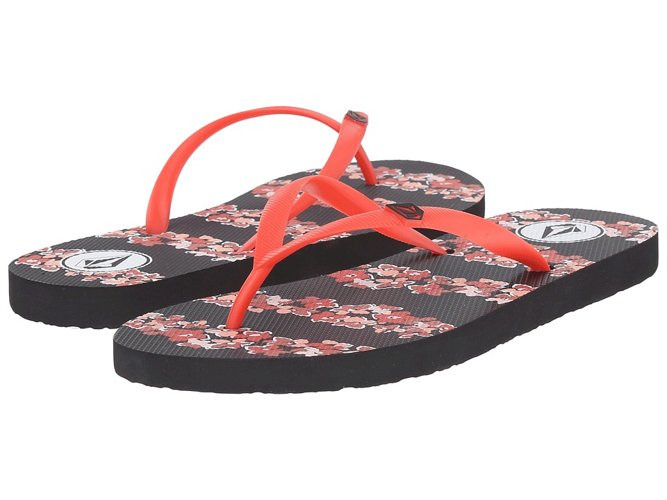 Volcom - Rocking 2 Sandal (Fire Red) Women's Sandals