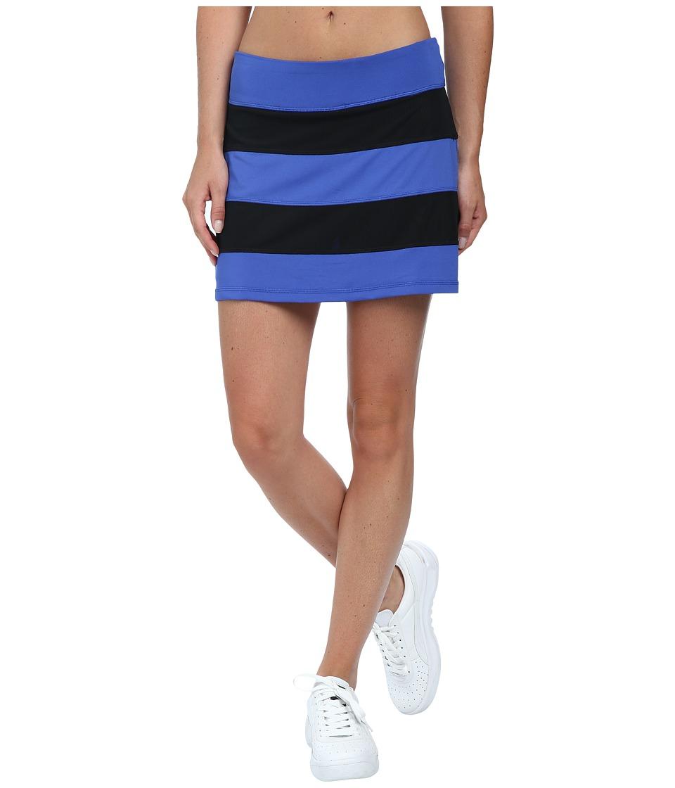 Fila - Peek-A-Boo Skort (Dazzlng Blue/Black) Women's Skort