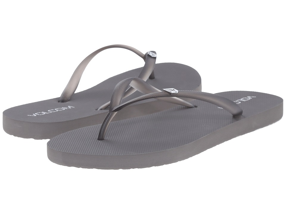 Volcom - Rocking Solid Sandal (Rock Grey) Women's Sandals