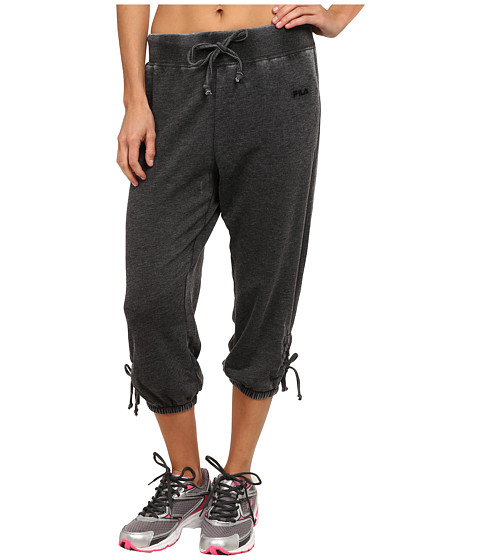 Fila - On Again Off Again Capris (Black) Women