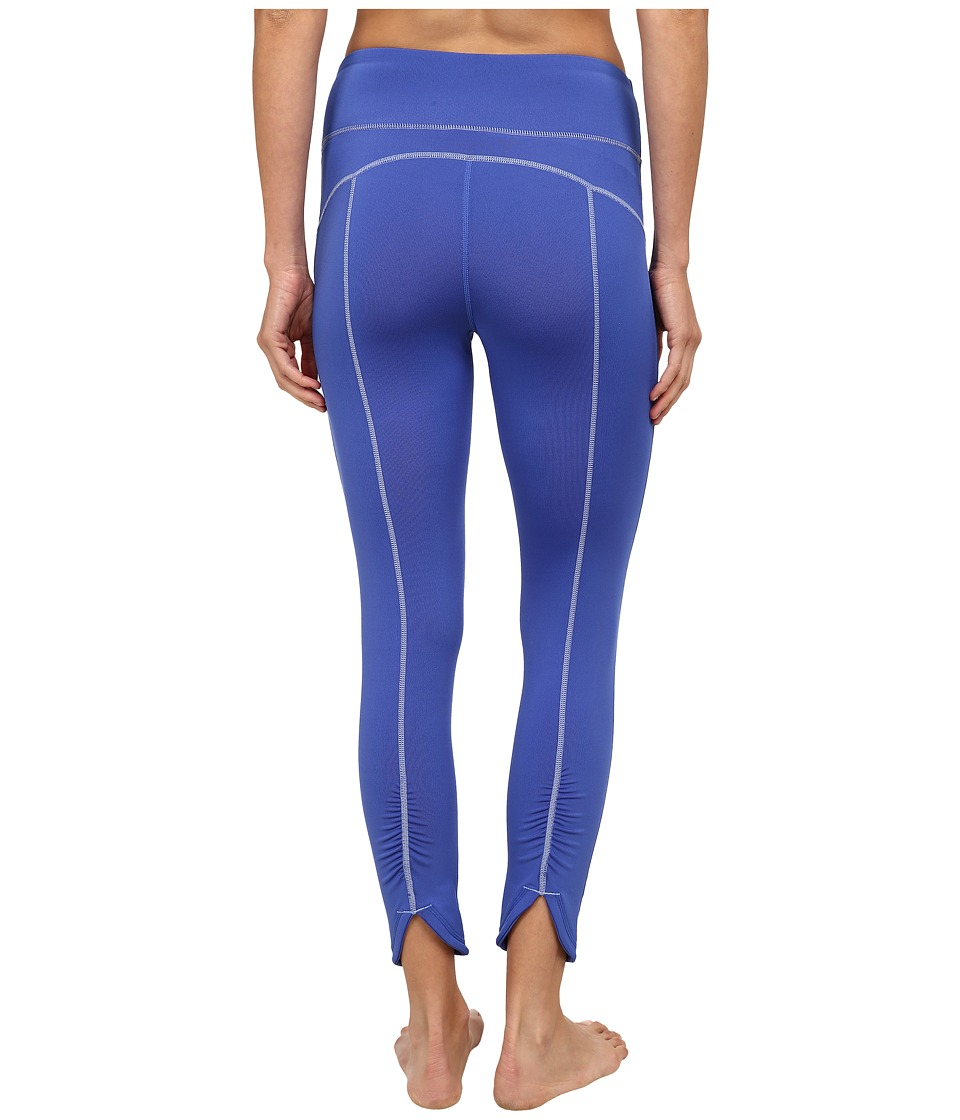 Fila - Glam 3/4 Ruched Capris (Dazzling Blue) Women's Capri