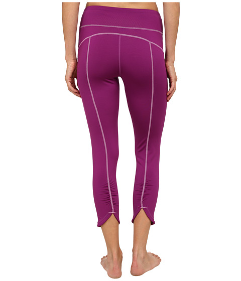 Fila - Glam 3/4 Ruched Capris (Sparkling Purple) Women