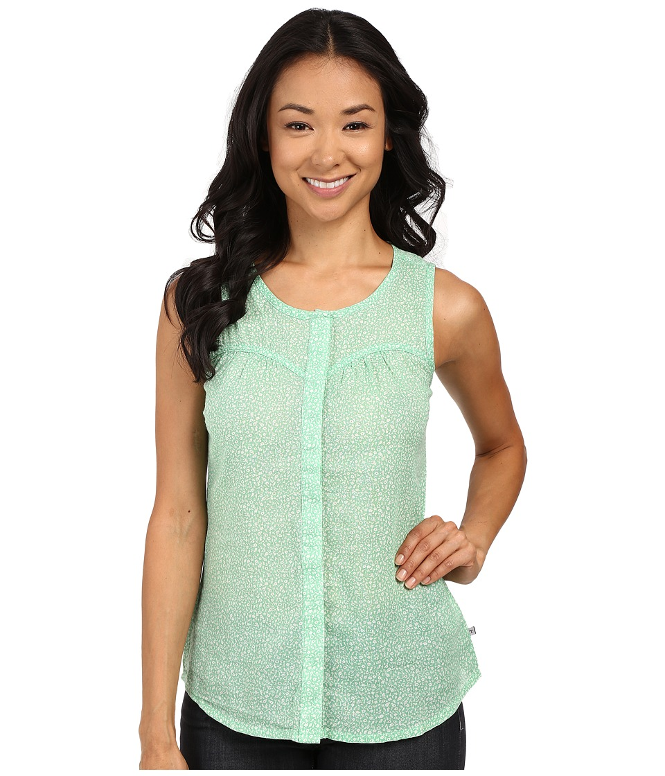 Toad&Co - Airbrush Print Tank Top (Green Awning) Women's Sleeveless