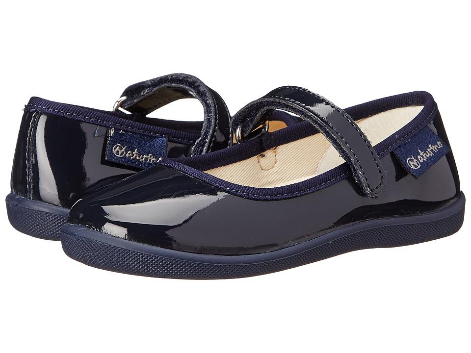 Naturino - Nat. 7944 (Toddler/Little Kid/Big Kid) (Navy Patent) Girl's Shoes