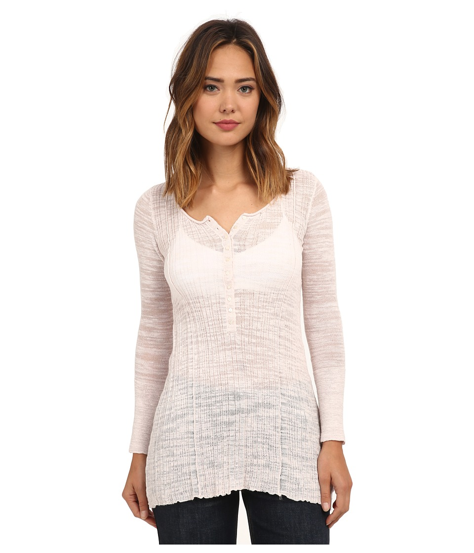 Free People - Ribbed Up Henley (Shell) Women's Clothing