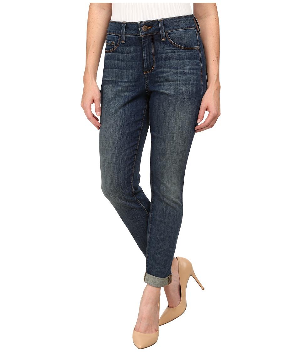 NYDJ Petite - Petite Anabelle Skinny Boyfriend in Oak Hill (Oak Hill) Women's Jeans
