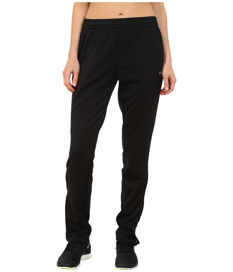 Fila - Trackster Pants (Black) Women's Casual Pants
