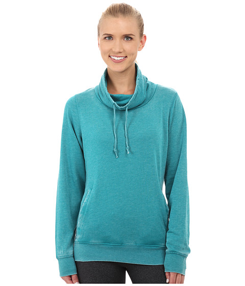 Fila - Easy Does It Cowl Neck (Emerald Teal) Women