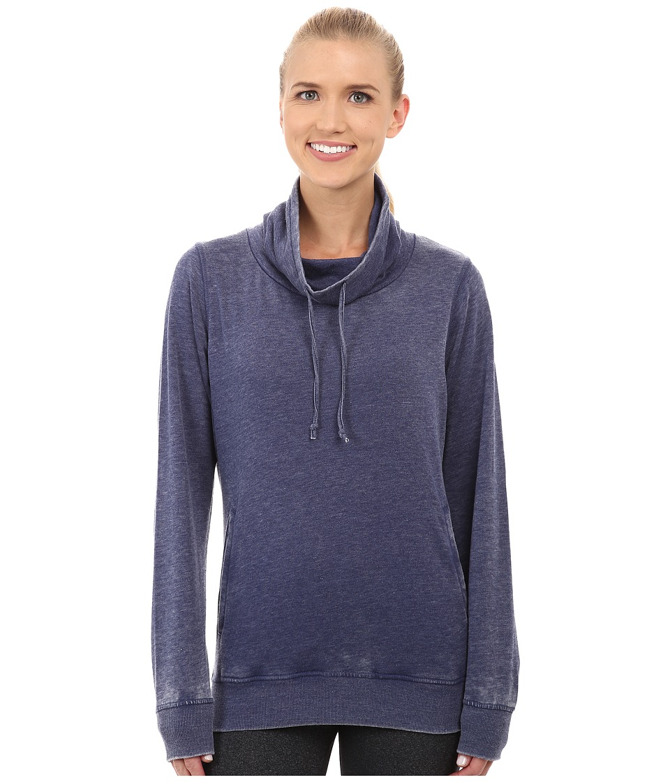 Fila - Easy Does It Cowl Neck (Navy Power) Women