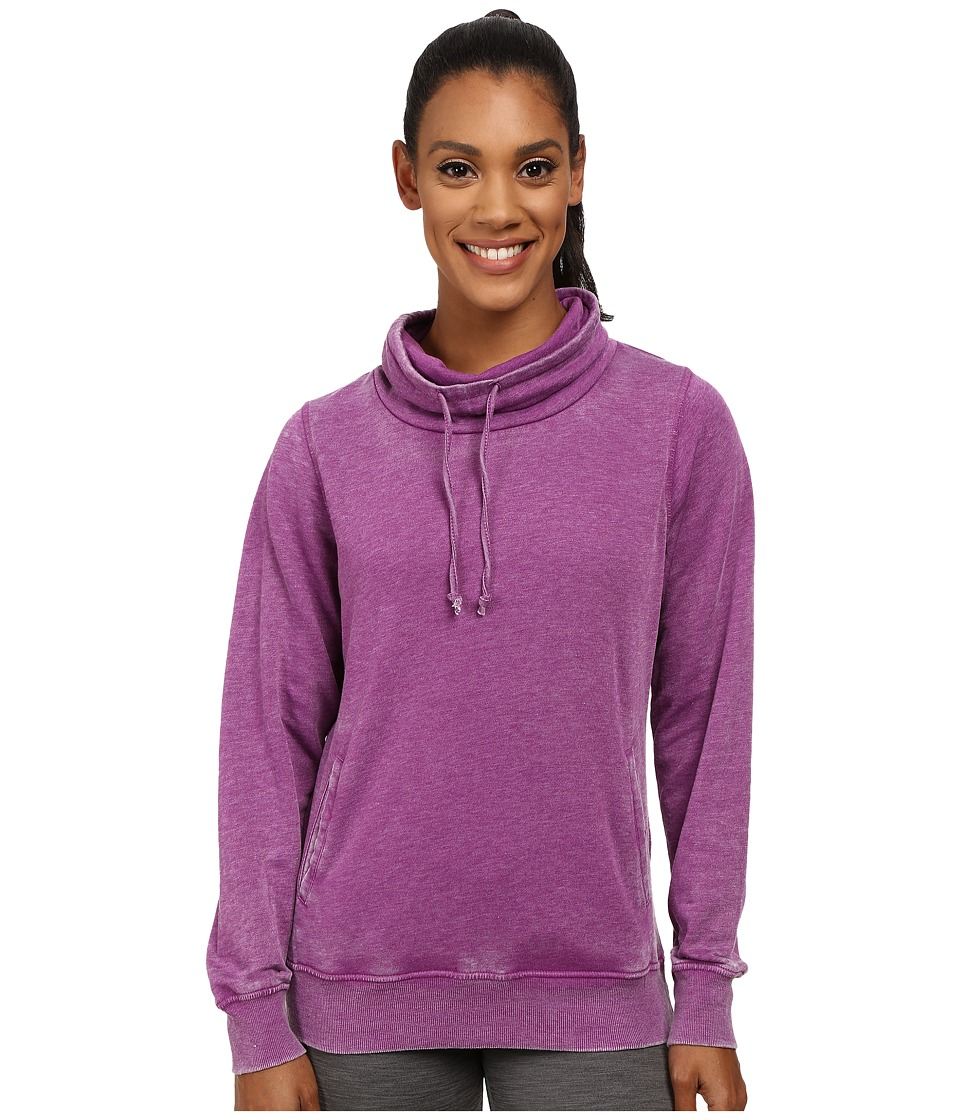 Fila - Easy Does It Cowl Neck (Sparkling Purple) Women's Sweatshirt
