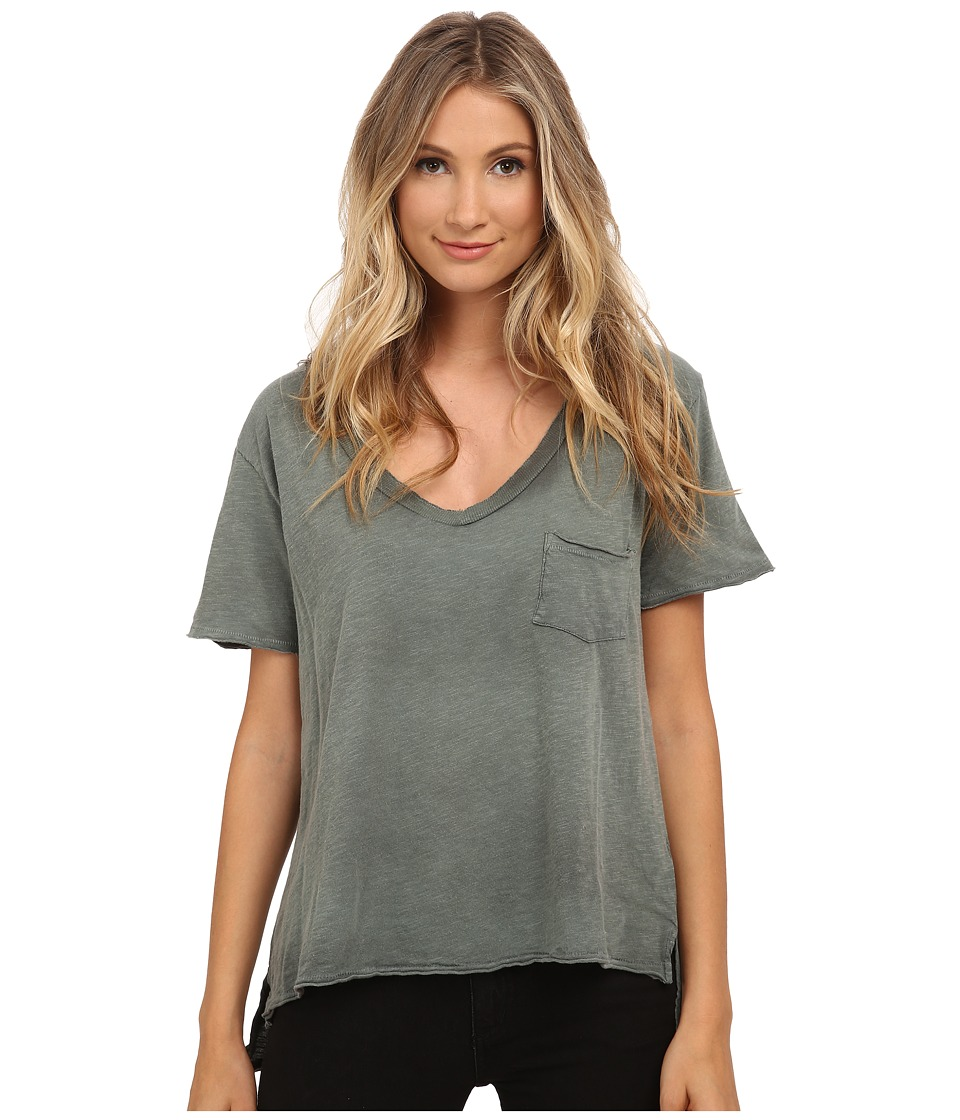 Free People - 757 Tee (Rifle Green) Women's T Shirt