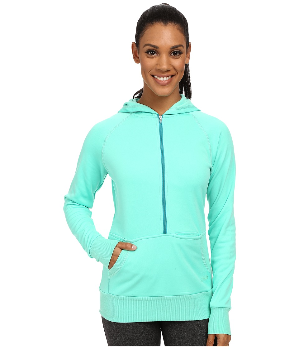Fila - Phenom Half Zip (Electric Green) Women's Sweatshirt