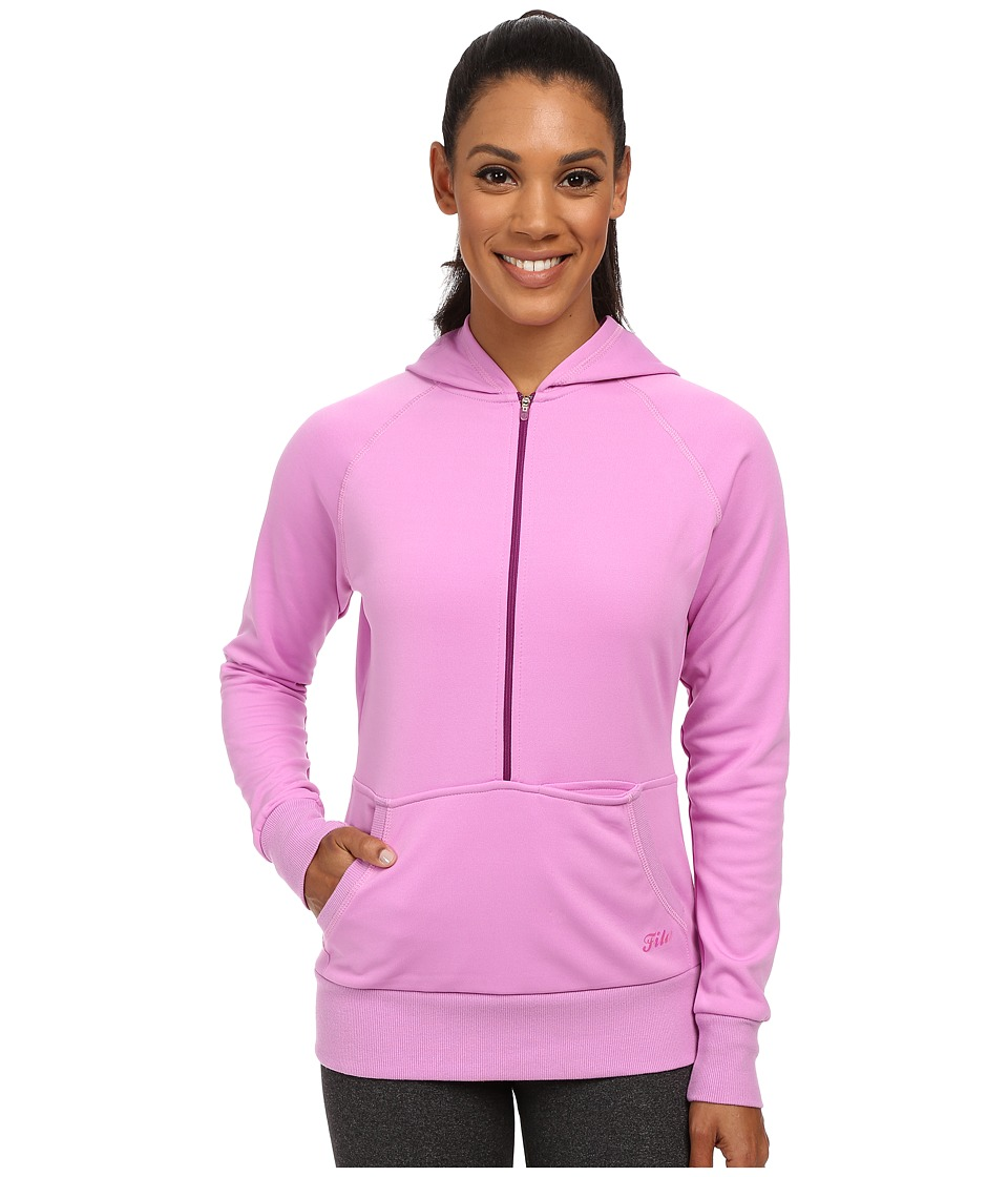 Fila - Phenom Half Zip (Thistle) Women's Sweatshirt