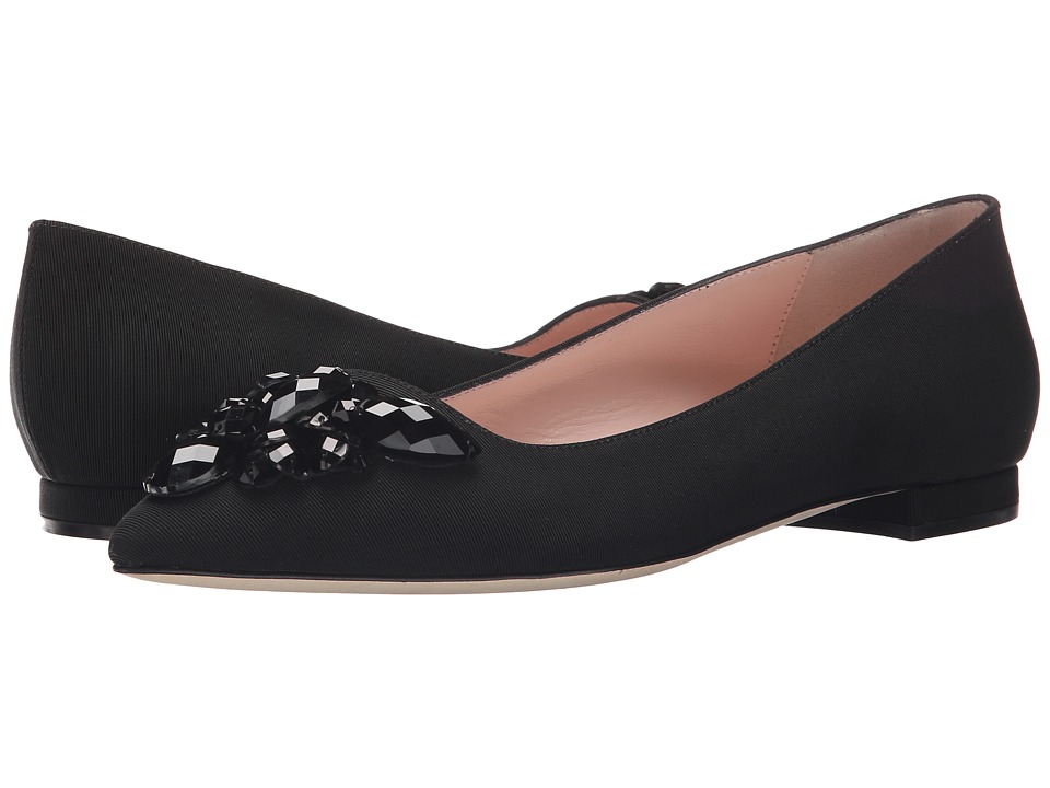 Kate Spade New York Benay (Black Grosgrain) Women