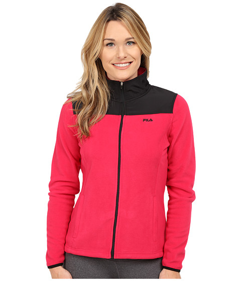Fila - Expedition Arctic Jacket (Bright Rose/Black) Women