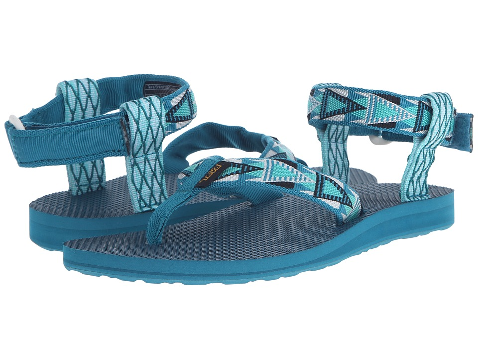Teva Original Sandal (Mashup Harbor Blue) Women