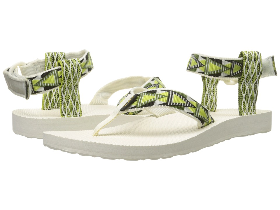 Teva Original Sandal (Mashup Atomic Lime) Women