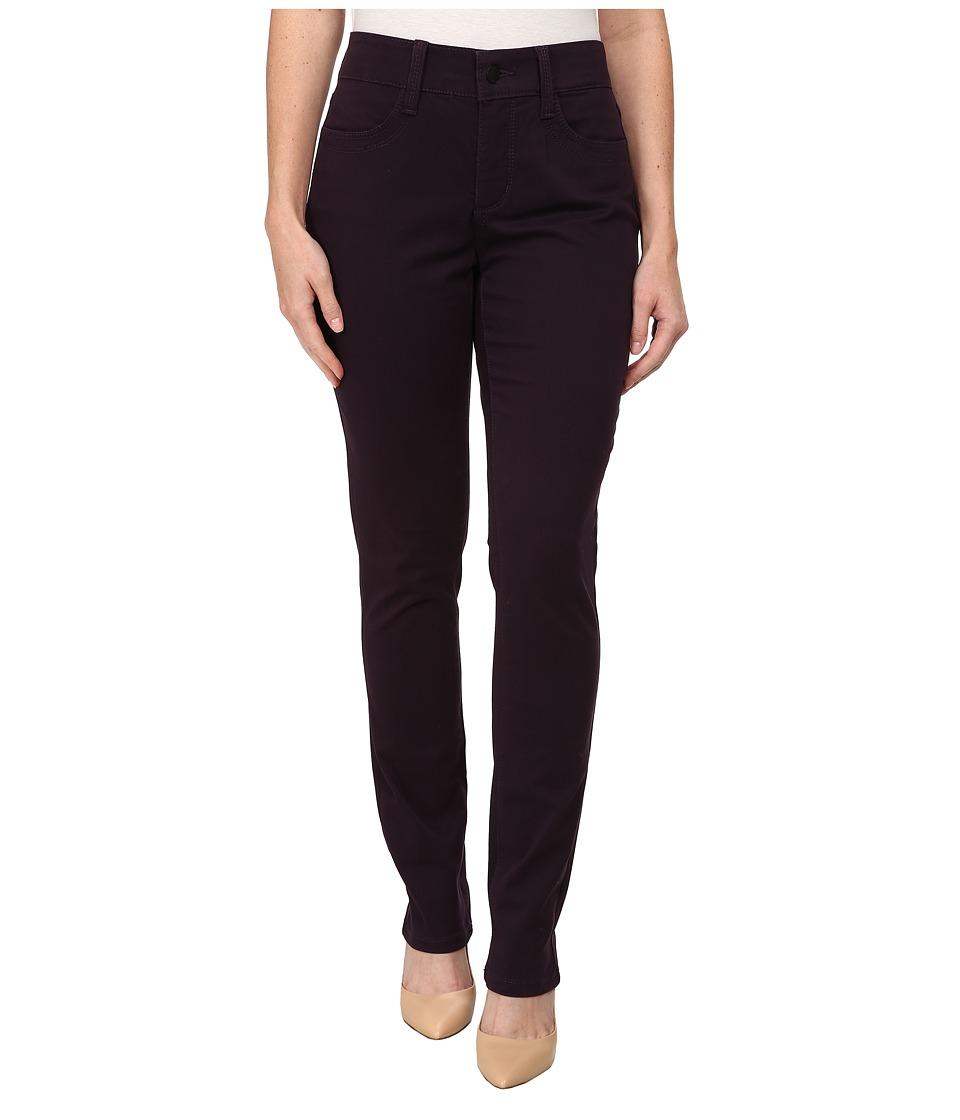 NYDJ Petite - Petite Samantha Slim (Deep Violet) Women's Casual Pants