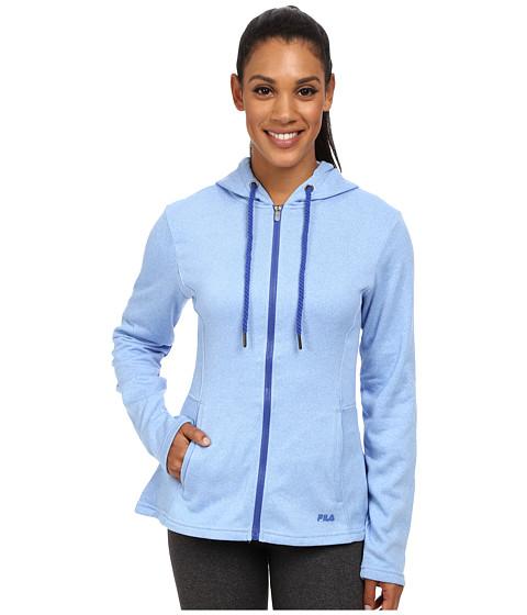 Fila - Bella Jacket (Lavender Blue Heather/Dazzling Blue) Women's Sweatshirt