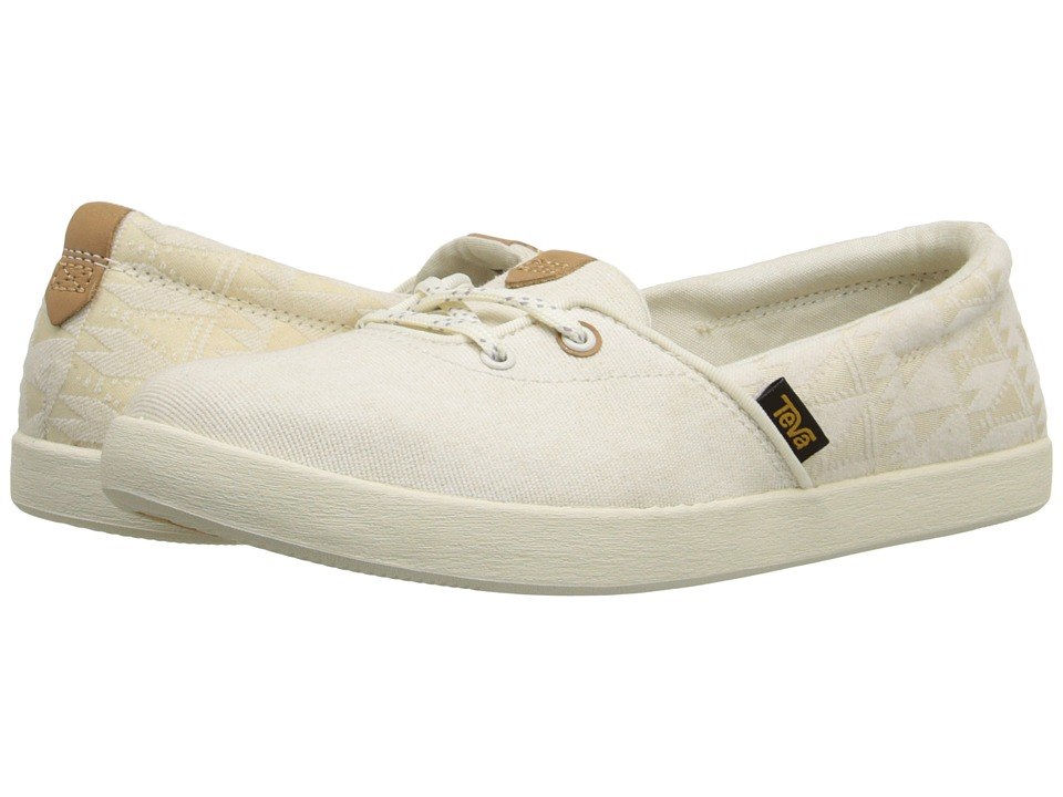 Teva - Willow Slip-On (White) Women's Slip on Shoes
