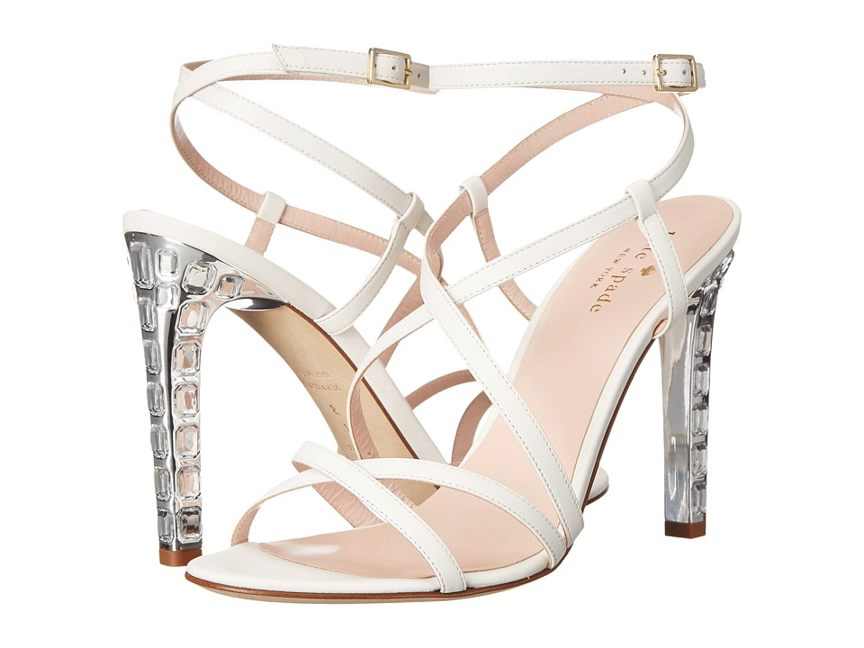 Kate Spade New York Fiandra (Off White Nappa) Women