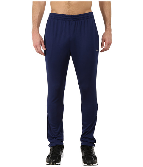 Fila - Pique Trackster Pants (Navy Power) Men