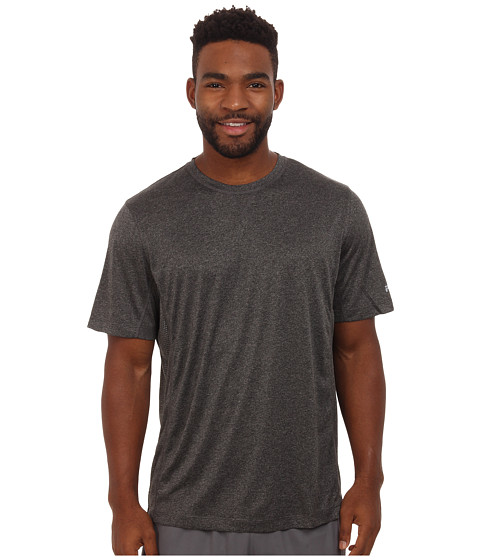Fila - Varsity Crew (Charcoal Heather/High Rise) Men's T Shirt