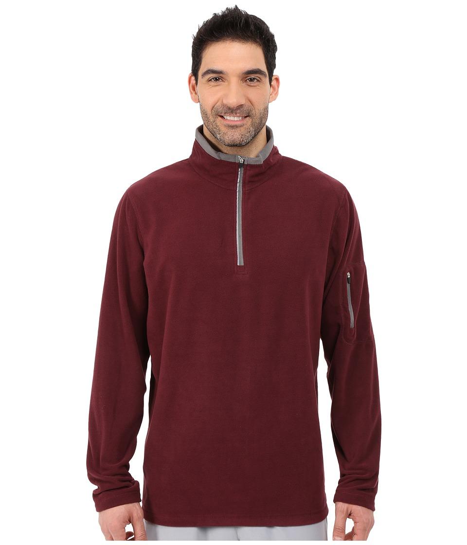 Fila - Encore Half Zip Pullover (Wine Tasting/Castlerock) Men